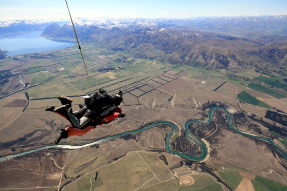 Skydiving in Wanaka