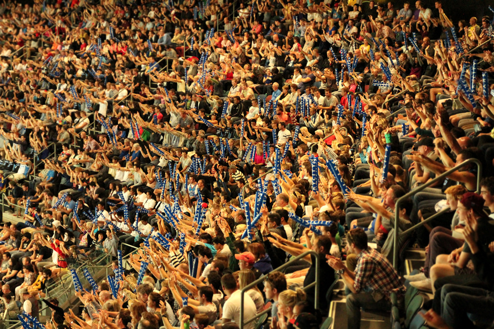 Auckland Breakers Fans Vector Arena