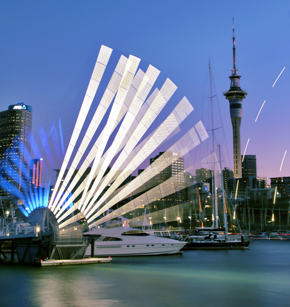 Wynyard Crossing, Auckland, New Zealand