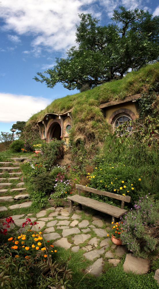 Bag End in Hobbiton