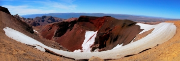 tongariro new zealand red crater