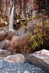 tongariro new zealand cascade