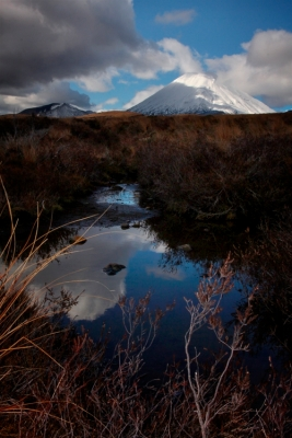 tongariro new zealand ngauruhoe