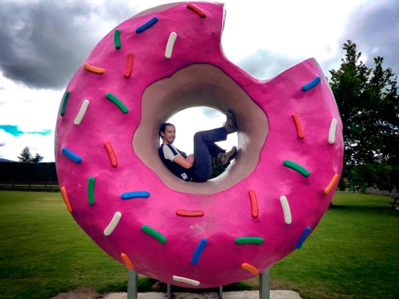 Springfield doughnut New Zealand
