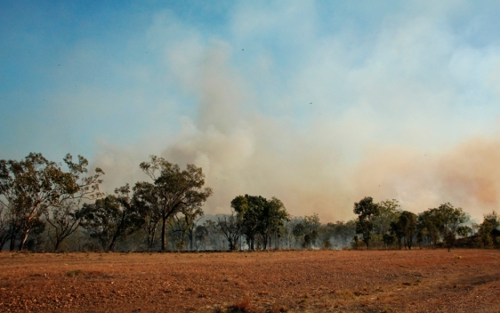 bushfire australia northern territory