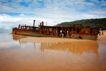Fraser Island Mahewo Shipwreck, Australia