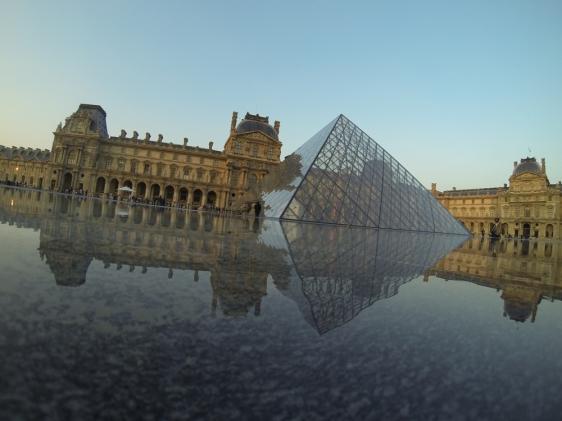 Louvre Paris GoPro