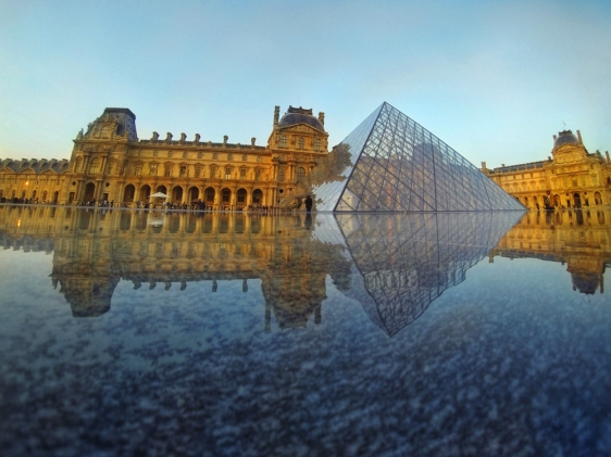 Louvre Paris with Snapseed