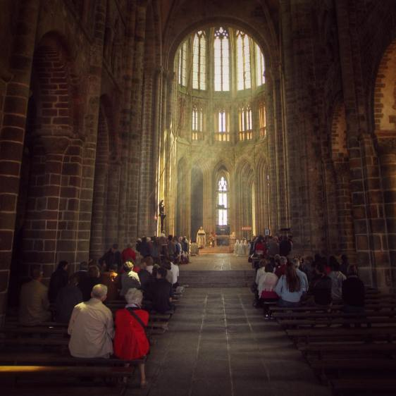 mont saint michel cathedral