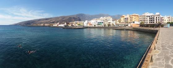 Puertito de Guimar, Tenerife, on a sunny day. Snorkel paradise!