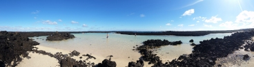 A lagoon (almost) for myself? YES please! Gracias Lanzarote!