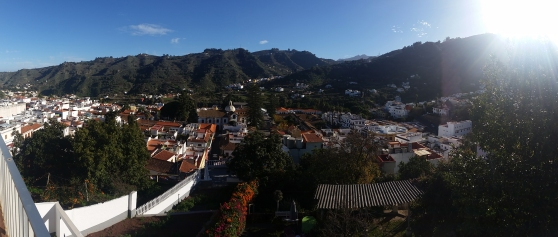 What a splendid view over the little town of Teror in Gran Canaria.