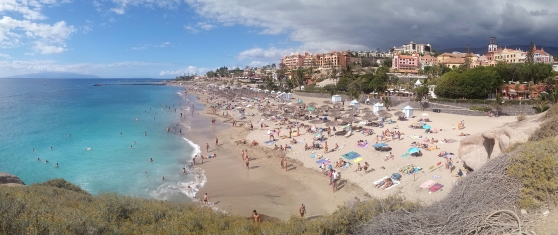 Adeje Tenerife Panorama