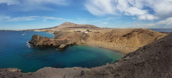 Playa del Papagayo Panorama