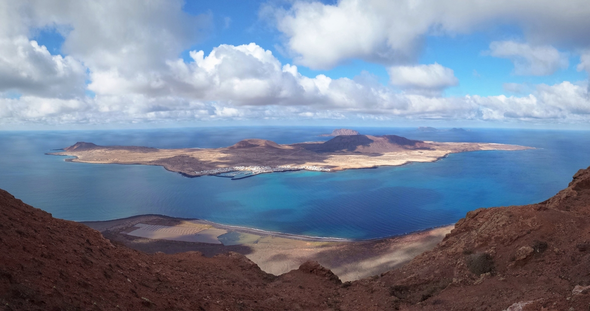 Lanzarote La Graciosa Panorama