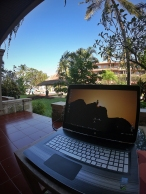 Working remotely in Bali