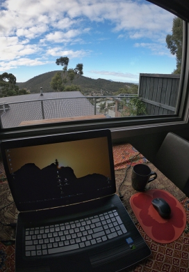 Working remotely in Hobart