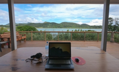 Working remotely in New Zealand